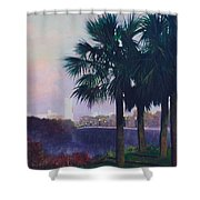 Vista Dusk Shower Curtain