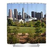 Vista Hermosa Park Los Angeles California Shower Curtain