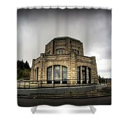 Vista House At Crown Point - Oregon Shower Curtain