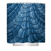 Visual Cortex Shower Curtain