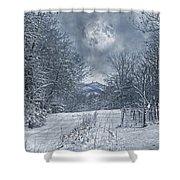 Visual Quiet Shower Curtain