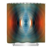 Vitality - Energy Abstract Art By Sharon Cummings Shower Curtain