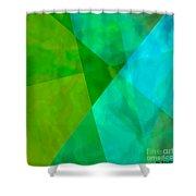 Vitreosity Shower Curtain by ME Kozdron