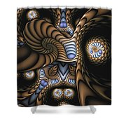 Vitreous Inanity Shower Curtain