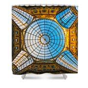 Vittorio Emanuele Gallery - Milan Shower Curtain