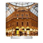 Vittorio Emanuele II Gallery Milan Italy Shower Curtain