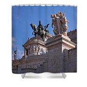 Vittorio Emanuelle Shower Curtain