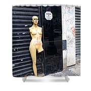 Viva O Meu Corpo - Sao Paulo Shower Curtain by Julie Niemela