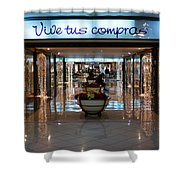 Vive Tus Compras Shower Curtain