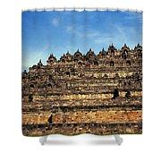 Vivid Borobudur Shower Curtain