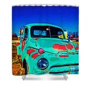 Vivid Dodge II Shower Curtain
