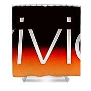 Vivid Shower Curtain