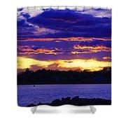 Vivid Skies Shower Curtain