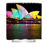 Vivid Sydney 2014 - Opera House 1 By Kaye Menner Shower Curtain