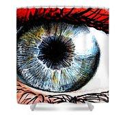 Vivid Vision  Shower Curtain