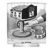 Viviscope, 1896 Shower Curtain