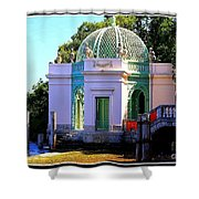 Vizcaya By The Pier Shower Curtain