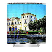 Vizcaya Museum And Gardens Shower Curtain