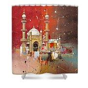 Vizhinjam Mosque Shower Curtain