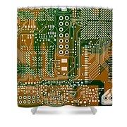 Vo96 Circuit 3 Shower Curtain