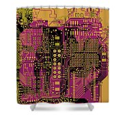 Vo96 Circuit 8 Shower Curtain