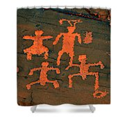 Vof Dance Scene Shower Curtain