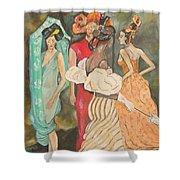 Vogue Ladies Shower Curtain