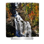 Voice Of Many Waters Shower Curtain