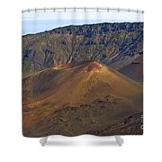 Volcanic Cone Shower Curtain