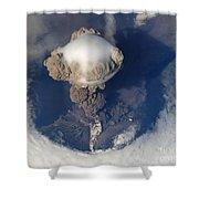 Volcanic Eruption Eruption Volcano Volcanism Shower Curtain