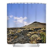 Volcanic Landscape Shower Curtain