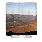 Volcanic Valley Of Cones Shower Curtain