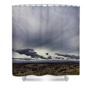 Volcano Vog Big Island Hawaii V2 Shower Curtain