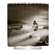 Volkswagen Karmann Ghia Shower Curtain