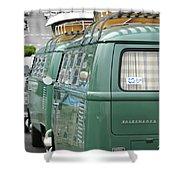 Volkswagen Vw Bus Shower Curtain