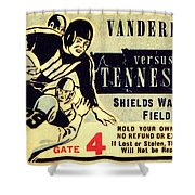 Volunteer State Rivalry Shower Curtain