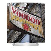 Voodoo Doughnuts Shower Curtain