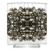 Voodoo Mask Shower Curtain