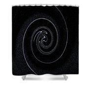 Vortex Art Shower Curtain