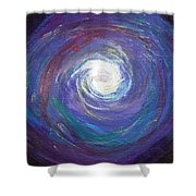 Vortex Of Love Shower Curtain