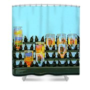 Votives Santa Barbara Shower Curtain