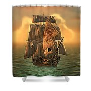 The Voyage Of The Dawn Treader Shower Curtain