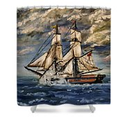 Voyage Of The Cloud Chaser Shower Curtain