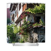 V. Turnovo Old City Street View - Bulgaria Shower Curtain