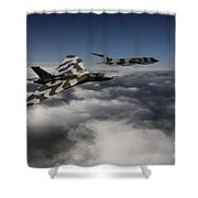 Vulcan And Victor  Shower Curtain