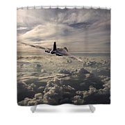 Vulcan Farewell  Shower Curtain