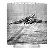 Vulcan Sea  Shower Curtain