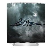 Vulcan Storm Shower Curtain
