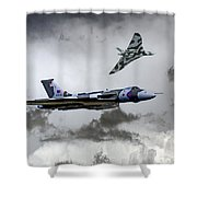 Vulcan Wingman Shower Curtain