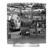 Vultee Aircraft Company Nashville 1941 Shower Curtain